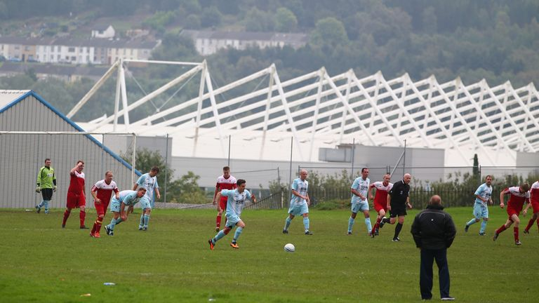 Team sports in Wales will be limited to groups of 30 people