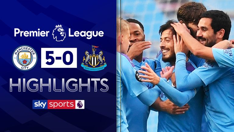 FREE TO WATCH: Highlights from Manchester City's win over Newcastle