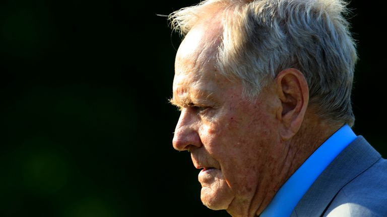 """Nicklaus was tested for coronavirus as part of the tournament """"bubble"""""""