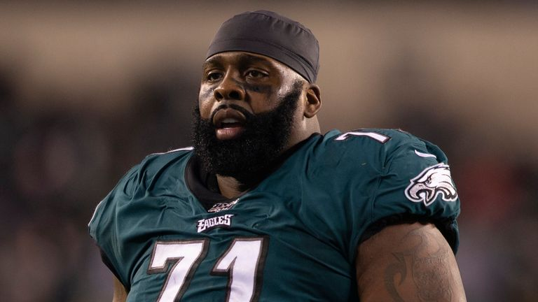 Jason Peters is going to play a new position with the eagles in 2020