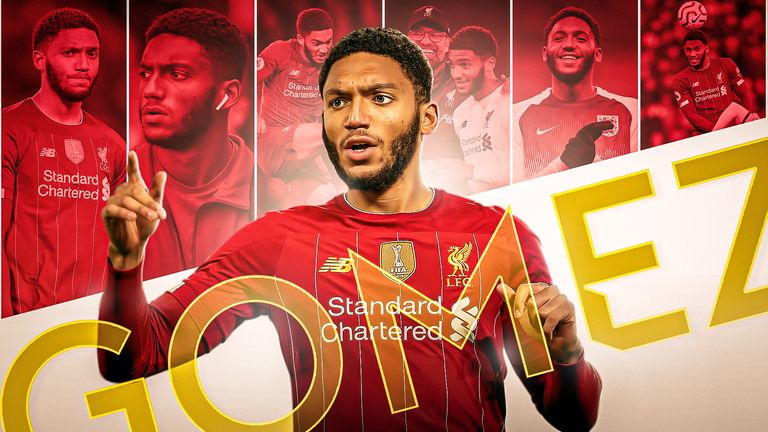 Joe Gomez discussed Jurgen Klopp's influence, injuries and playing alongside Virgil van Dijk in an exclusive interview with Sky Sports