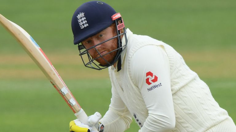 Bairstow in action during England's warm-up game in Southampton