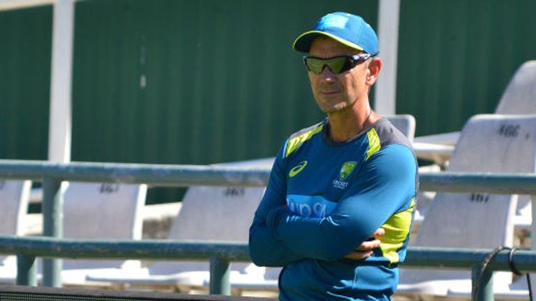 Justin Langer's Australia are touring England this month