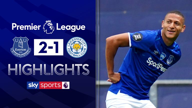FREE TO WATCH: Highlights from Everton's win against Leicester.