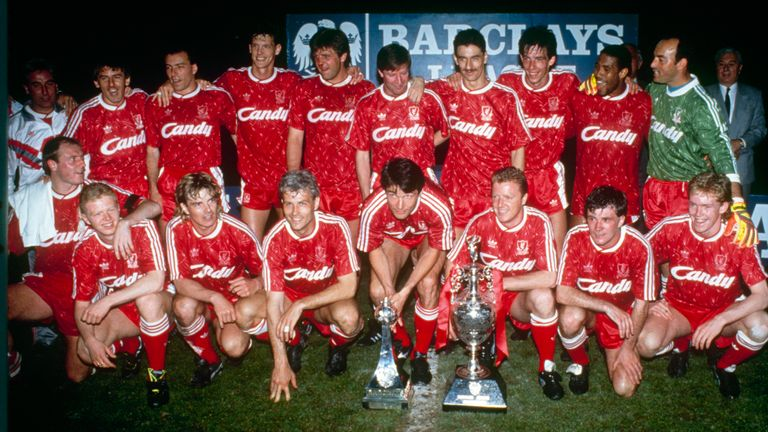 Liverpool's players celebrate with the title in 1990, but where are they all now?