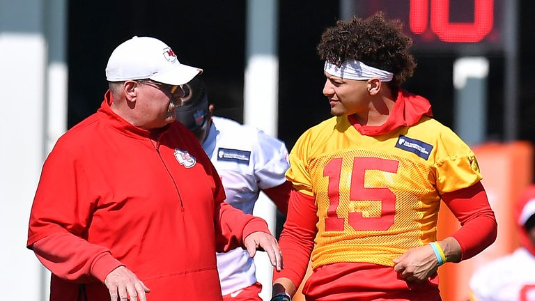 Andy Reid and Patrick Mahomes have excelled together in Kansas City