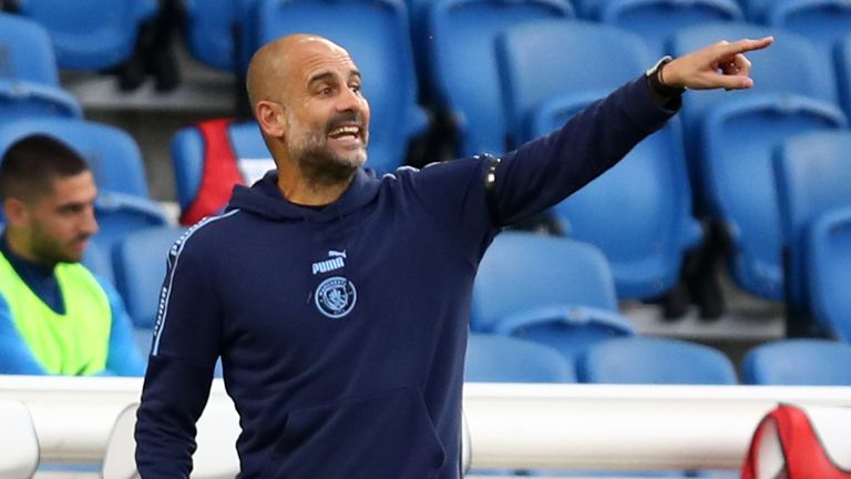 Guardiola is optimistic over his side's appeal