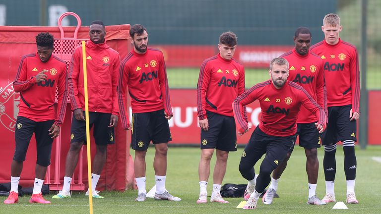 Solskjaer says United's squad is as fit as it has been for years