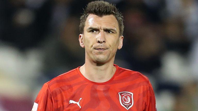 Mario Mandzukic has announced he is leaving Al-Duhail