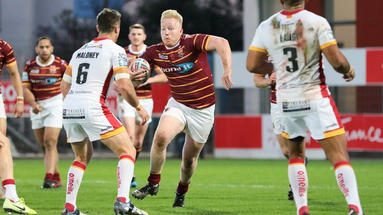 Huddersfield and Catalans are two of the teams which will be playing on August 2