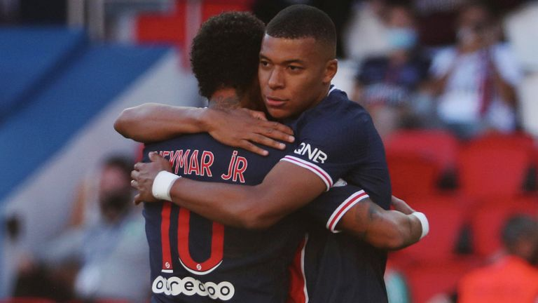 Neymar and Mbappe were on good form during the friendly match in Paris