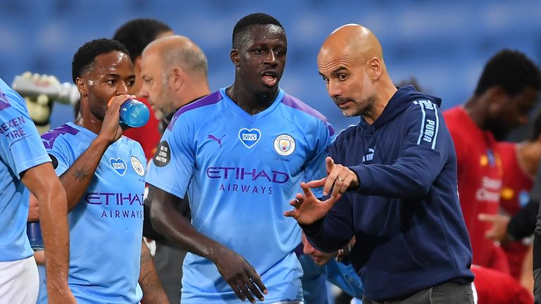 Benjamin Mendy impressed his boss Pep Guardiola