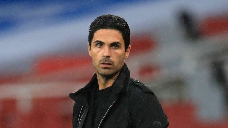 Mikel Arteta says Manchester City deserve to be in the Champions League next season