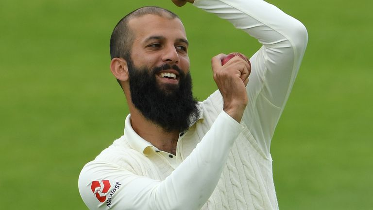 Moeen Ali has been overlooked for the first Test against West Indies