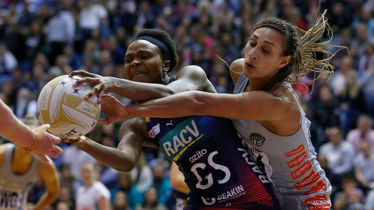 The Magpies will face the Vixens in Round One of Super Netball