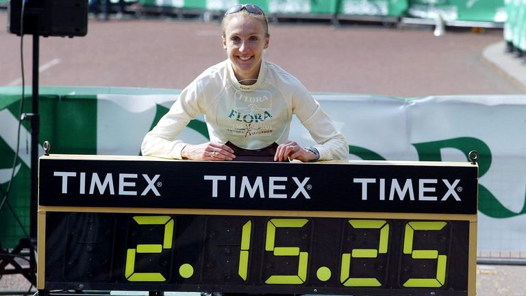 The long-distance great held the women's marathon world record for 16 years from 2003 to 2019