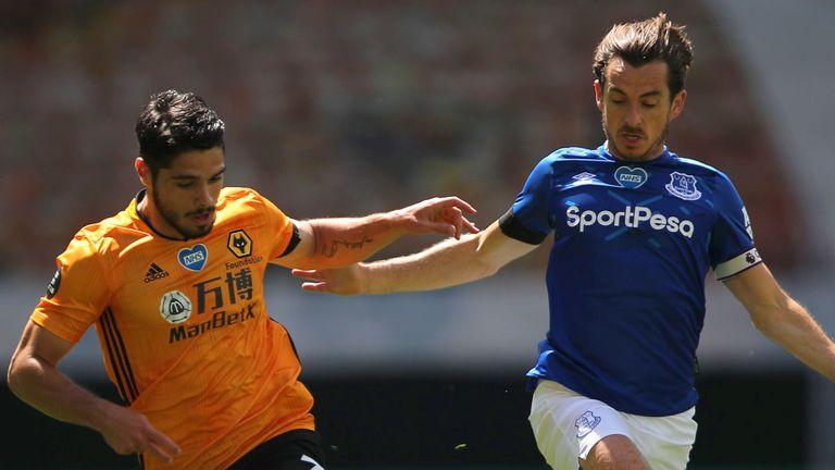 Leighton Baines podría estar haciendo su aparición final en el Everton después de 13 temporadas