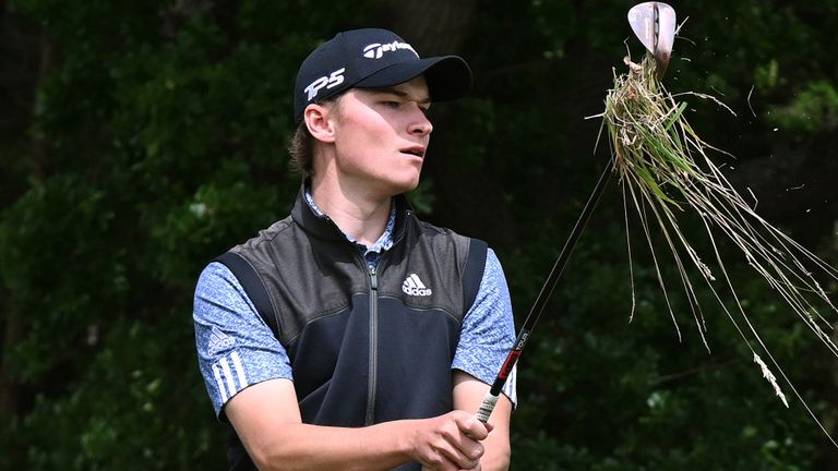 Rasmus Hojgaard claimed outright second on 15 under