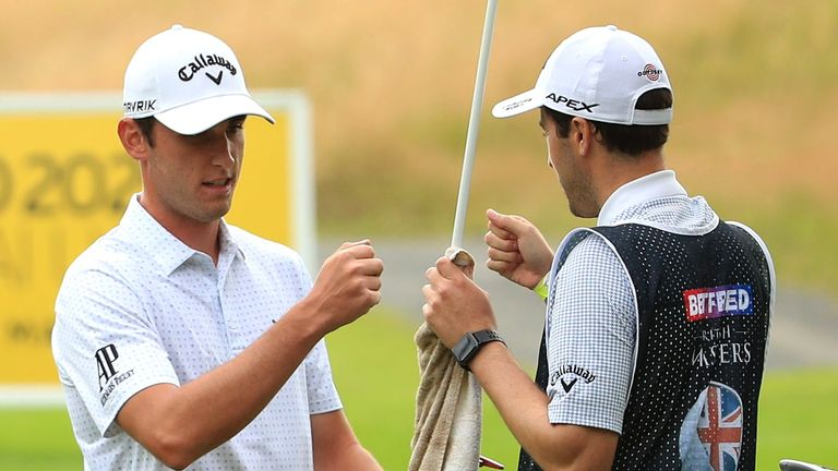 Renato Paratore reflects on three bogey-free days and taking a one-shot lead into the final day
