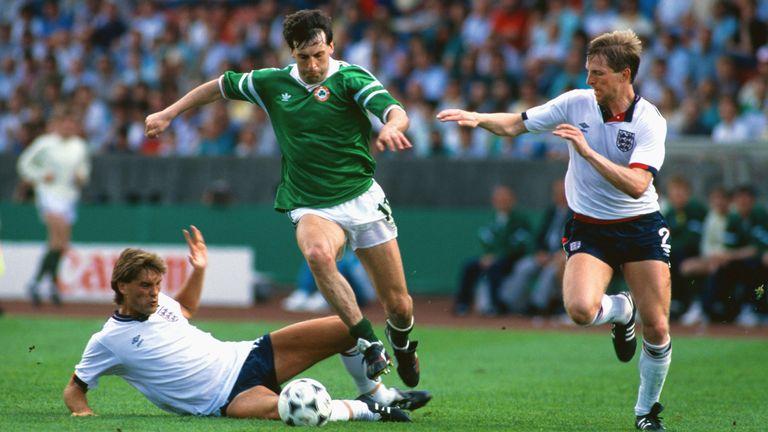 Republic of Ireland beat England at Euro '88