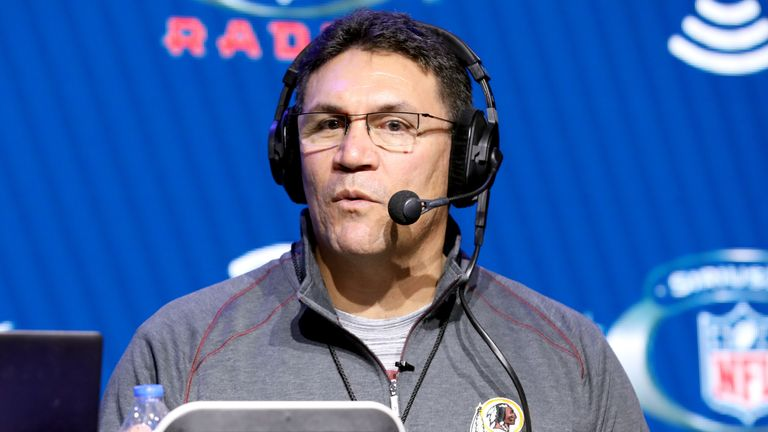 Ron Rivera is one of four minority head coaches in the NFL
