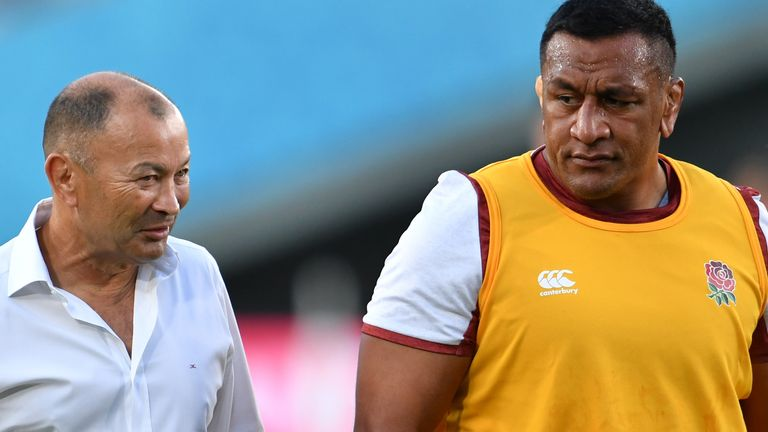 Mako Vunipola spoke with Eddie Jones before committing to Saracens
