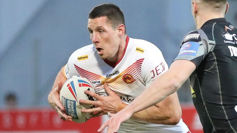 Joel Tomkins and his Catalans team-mates have been back in training since early July