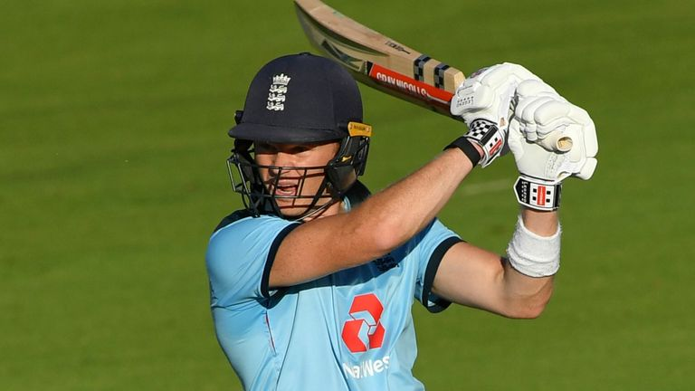 Sam Billings struck a career-best 67 not out in England's first ODI win over Ireland