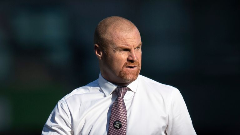 Sean Dyche has said questions over his future will not be a distraction as Burnley look to finish the season strongly