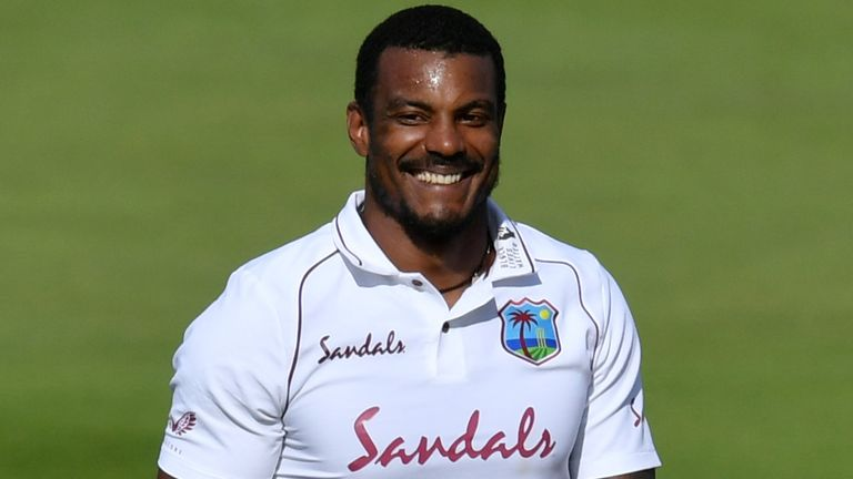 Shannon Gabriel took his sixth Test five-for