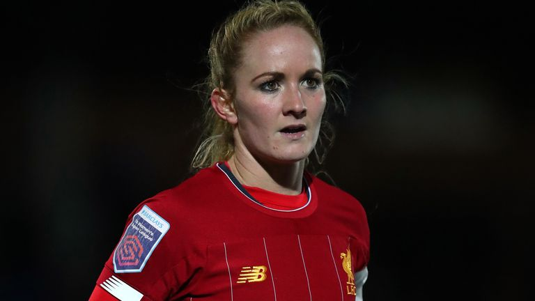Liverpool Women captain Sophie Bradley-Auckland works in a Nottingham care home