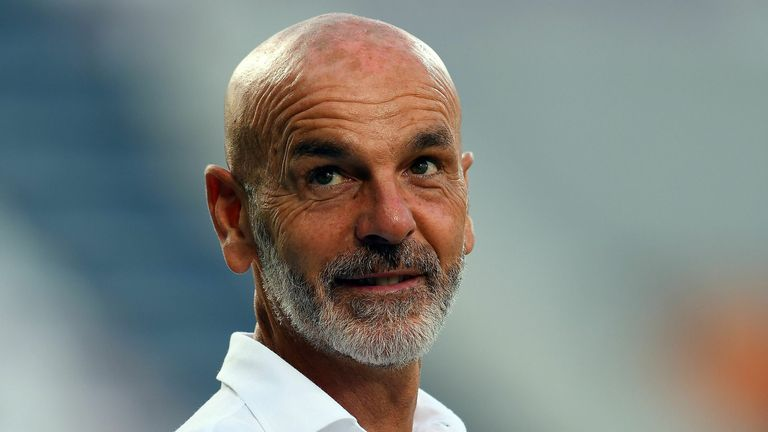 Stefano Pioli  has guided AC Milan to fifth in the table with just three games to go
