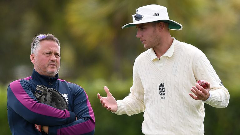 Darren Gough worked with Stuart Broad during a stint as an England bowling consultant over the winter