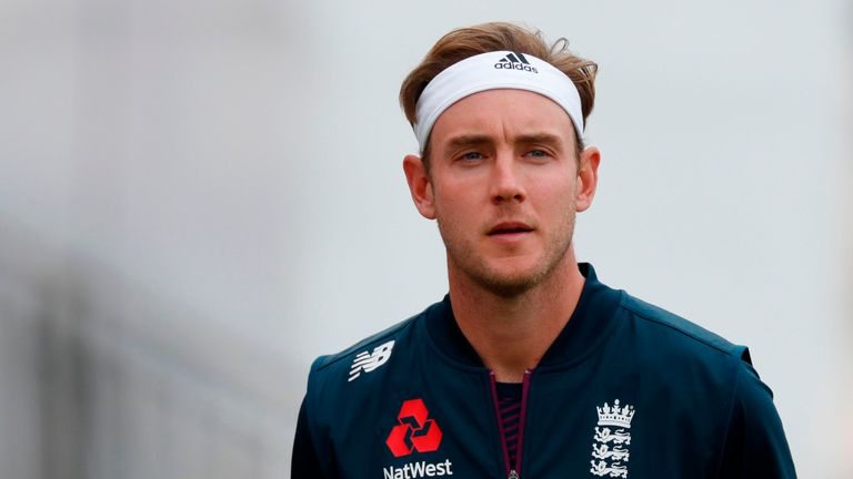 Stuart Broad was controversially omitted from England's side for the first Test