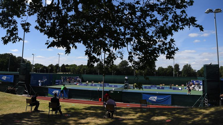 The National Tennis Centre is at the heart of elite tennis in England