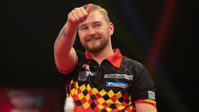 Dimitri Van den Bergh, a World Series quarter-finalist three years ago, is invited on the back of his World Matchplay success