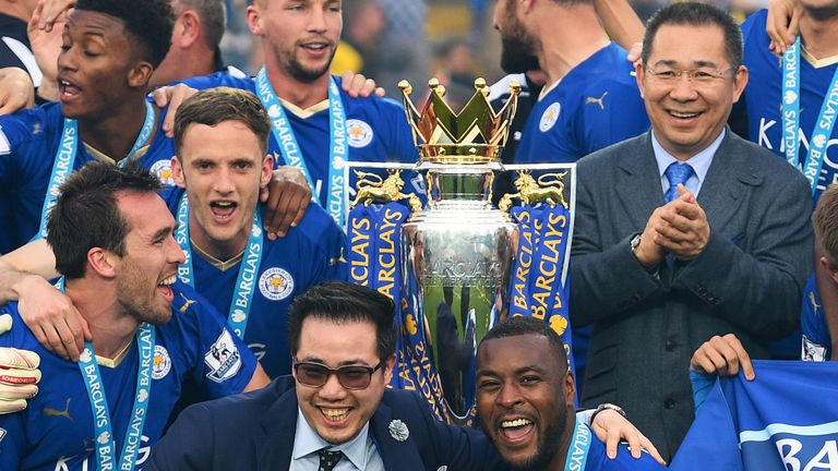 Aiyawatt 'Top' Srivaddhanaprabha works as Leicester's chairman following the passing of his father Vichai in 2018