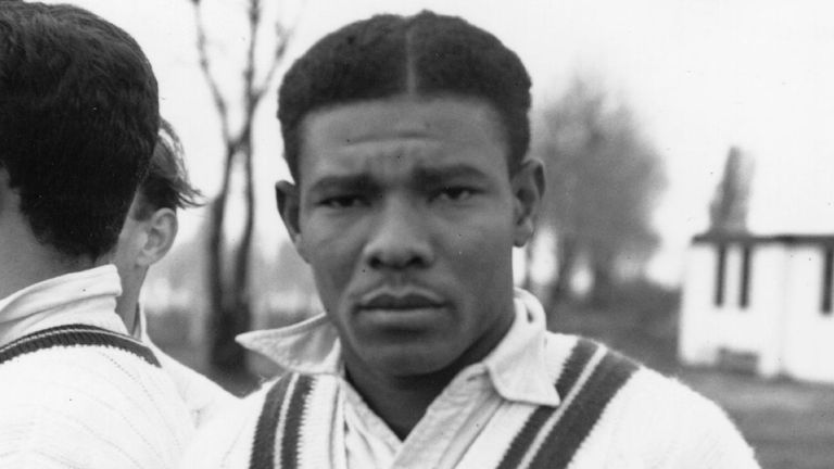 Weekes scored 15 centuries on his way to 4,455 runs at an average of 58.61.