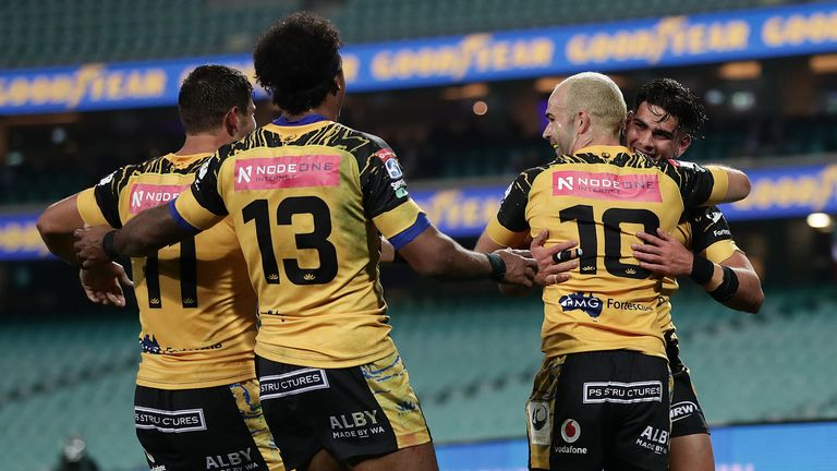 The Western Force got out to a 14-0 lead, but were reeled back in