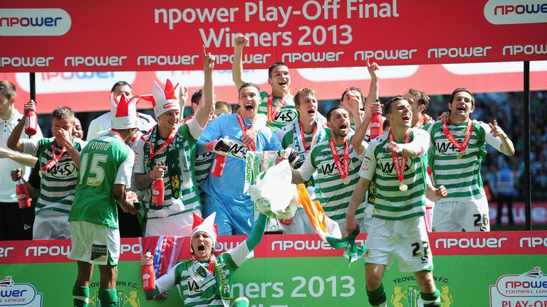 Brentford were beaten 2-1 by Yeovil in the League One play-off final in 2013