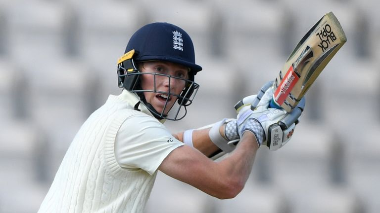 Zak Crawley has retained his place after scoring 76 at The Ageas Bowl