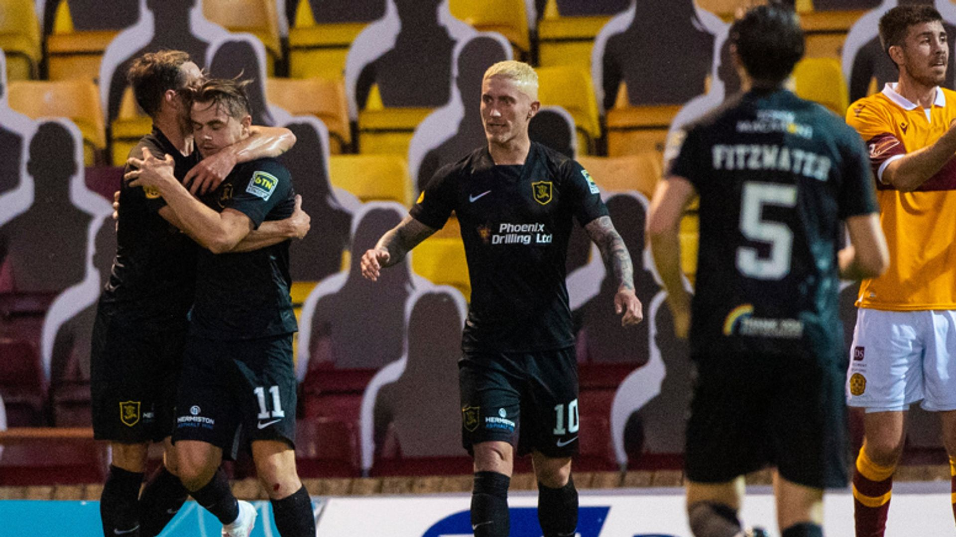 Livi fight back twice to draw at Motherwell