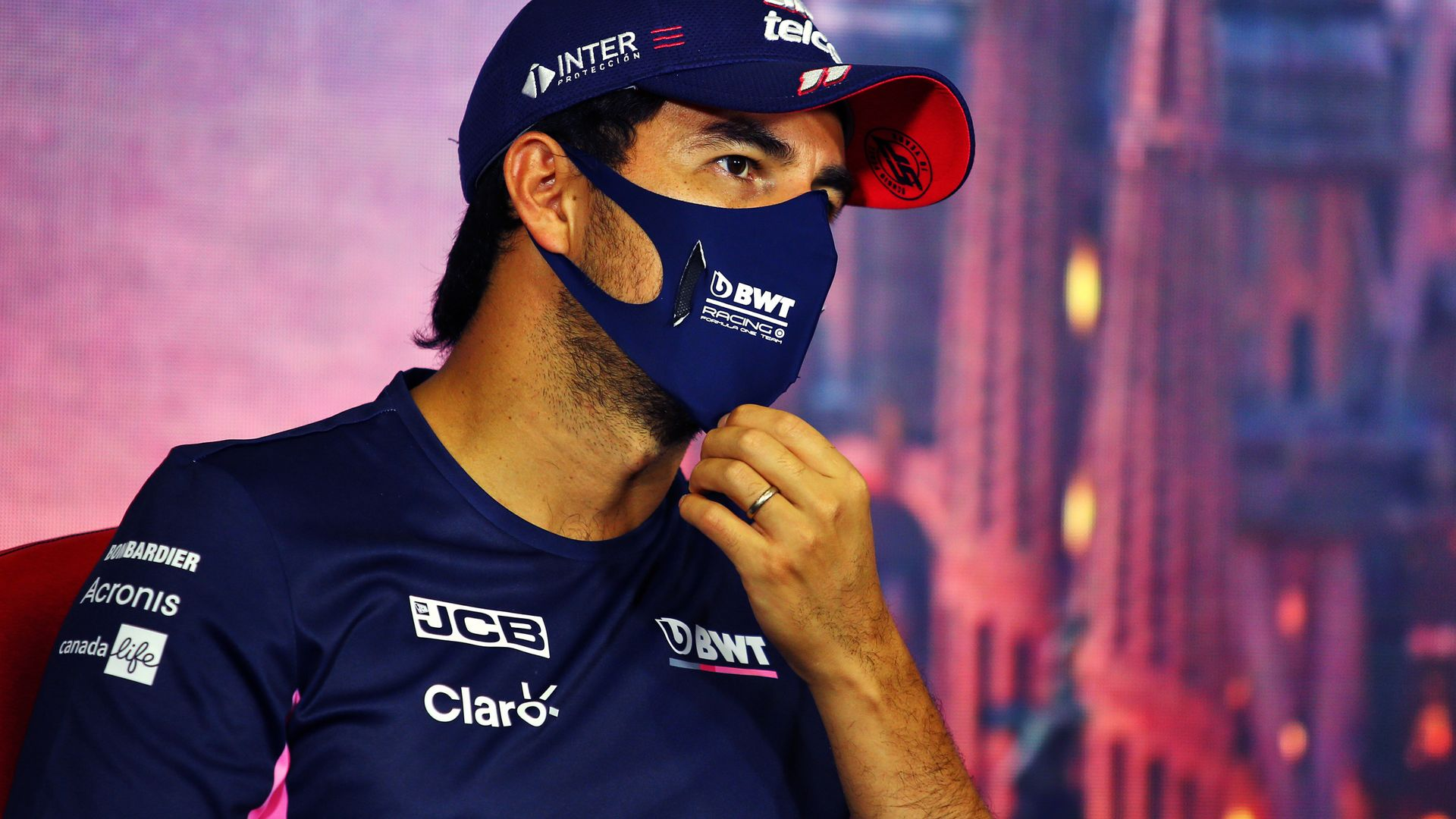 Perez on 'unlucky' positive test, F1 return