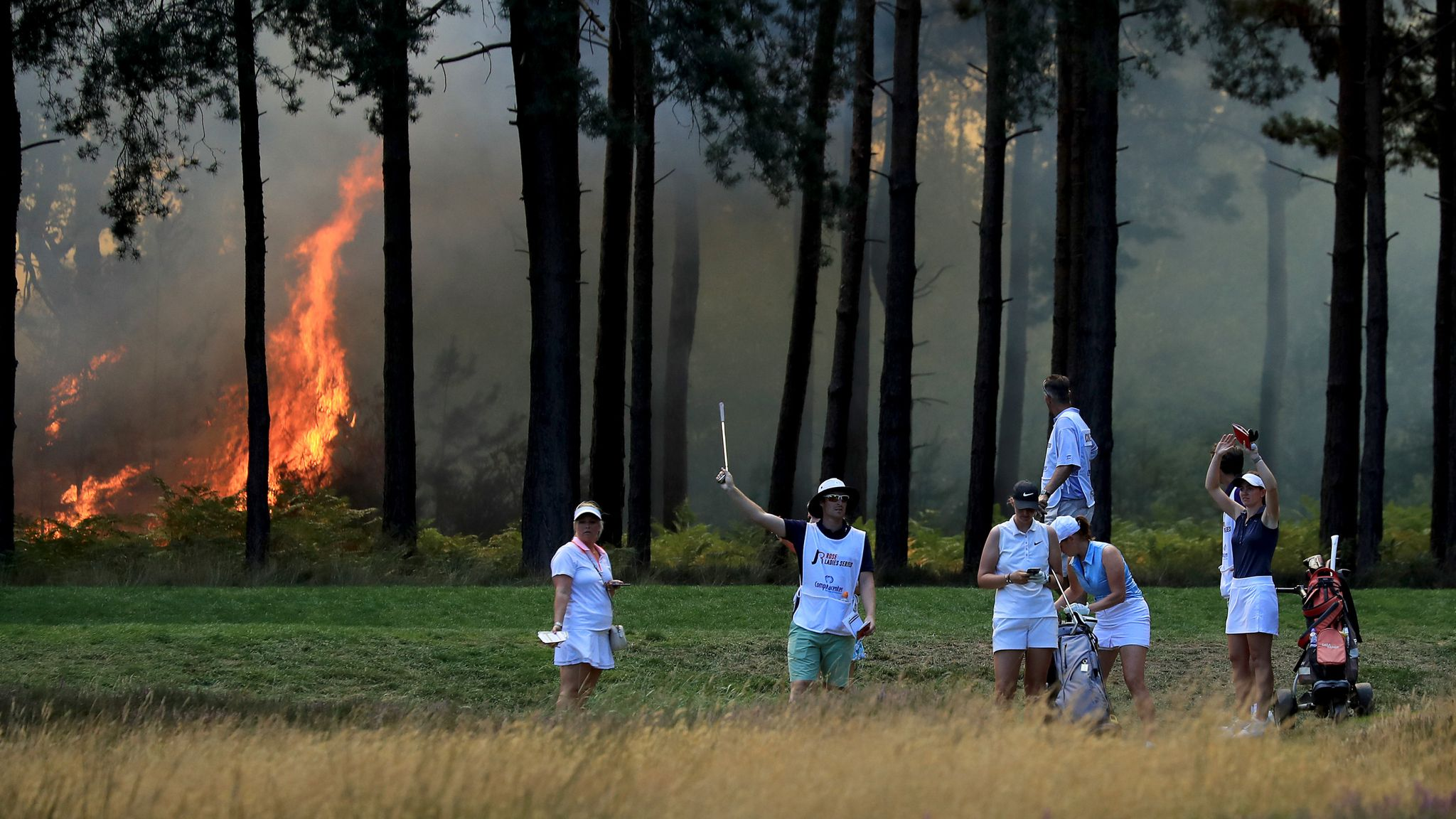 Fire At Wentworth A Timeline Of Events Video Watch Tv Show Sky Sports