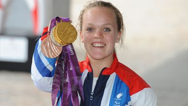 British swimming legend Ellie Simmonds reflects on the 2012 Paralympics in London