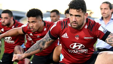 Codie Taylor led the Crusaders to another Super Rugby title