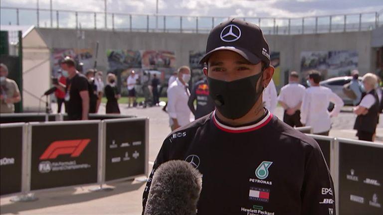 Lewis Hamilton wins British GP despite final-lap puncture plus reaction to a record-extending seven wins in his home race.