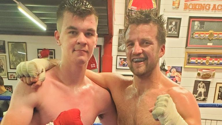 Aaron McKenna helped Anthony Fowler prepare for Fight Camp