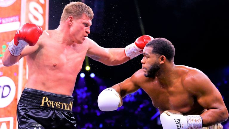 Povetkin and Hunter drew their fight last year