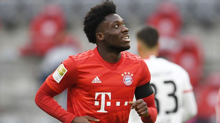 Alphonso Davies - from Ghanaian refugee to the top of the world game